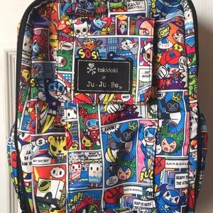 Tokidoki x jujube mini backpack